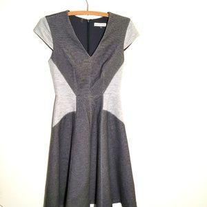 Rebecca Taylor Grey Melange Dress Size 0